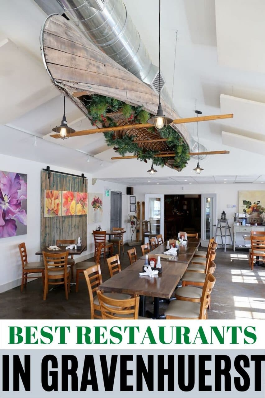 Save our Gravenhurst Restaurant Guide to Pinterest!