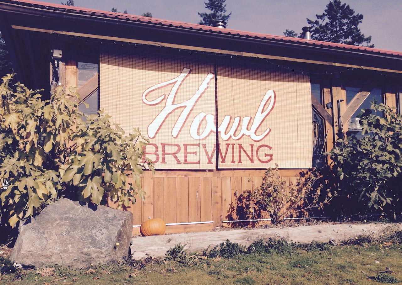 Howl Brewing produces craft beer in the Saanich Peninsula near Victoria.