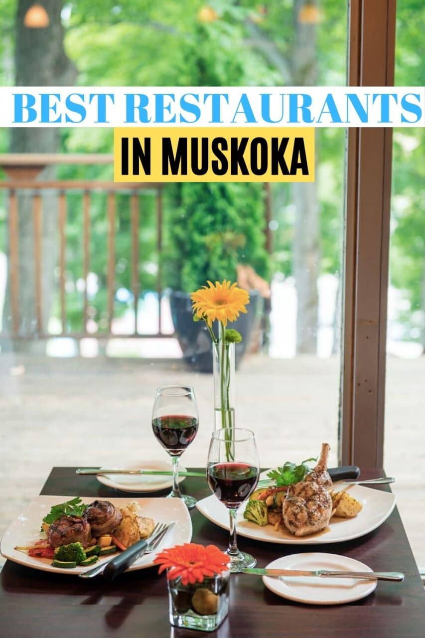 Save our restaurants in Muskoka guide to Pinterest!