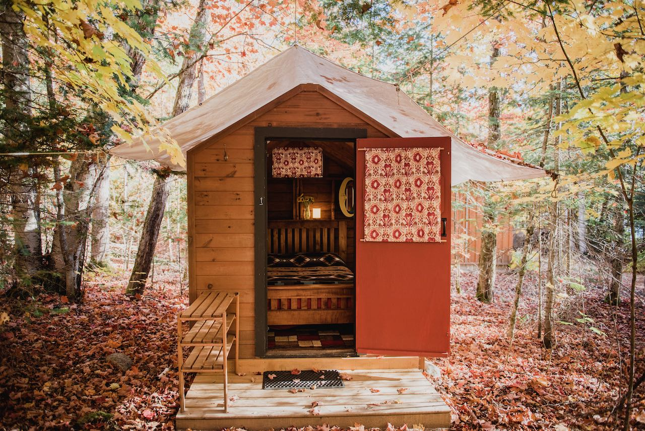 Norther Edge Algonquin is the best Ontario glamping destination for independent retreats.
