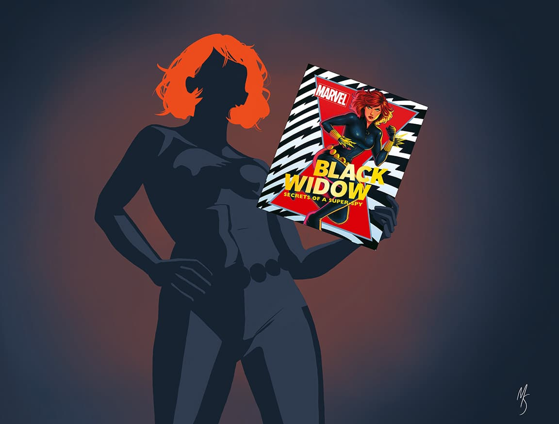 Black Widow: Secrets of a Super Spy by DK Publishing.