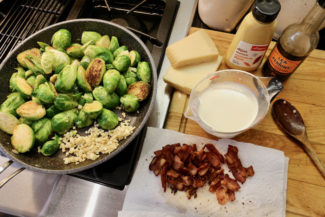 Prepare Keto Brussels Sprouts in under 30 minutes.