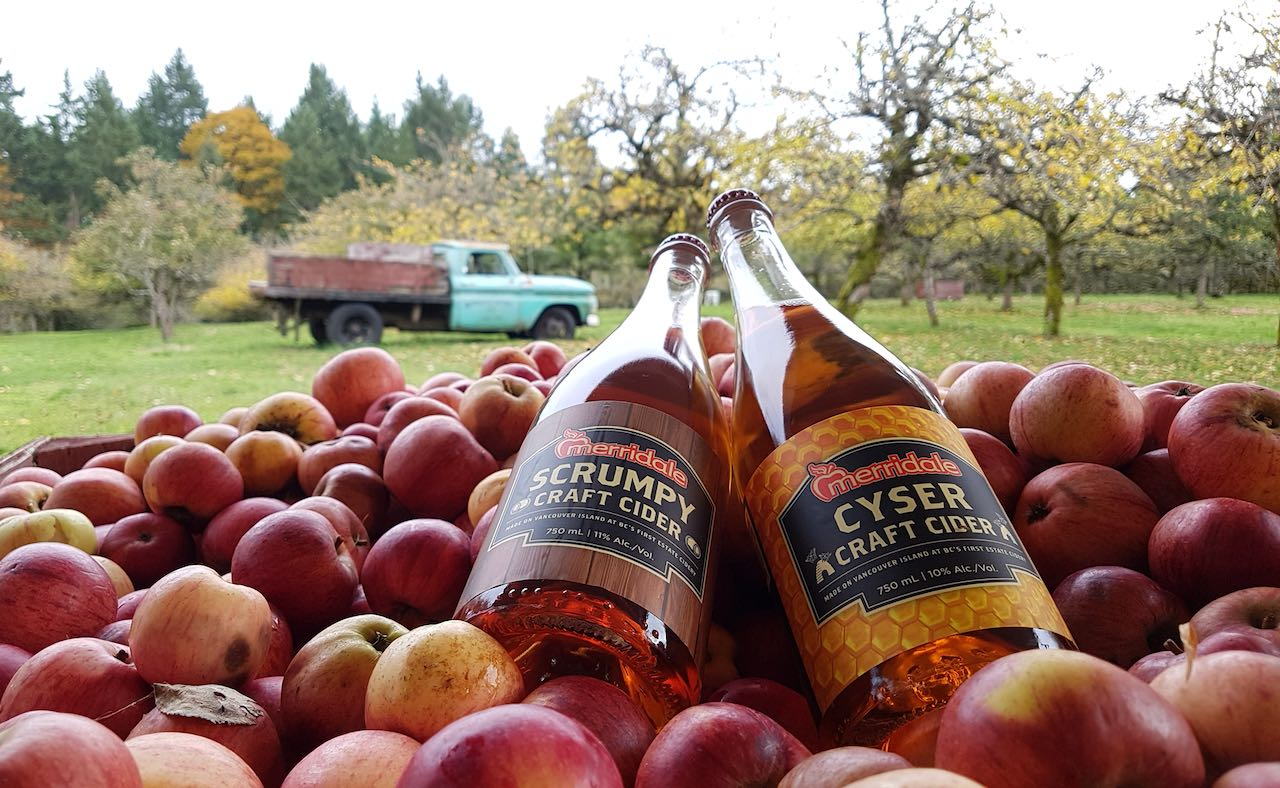 Merridale was the first Vancouver Island Cider House Estate.
