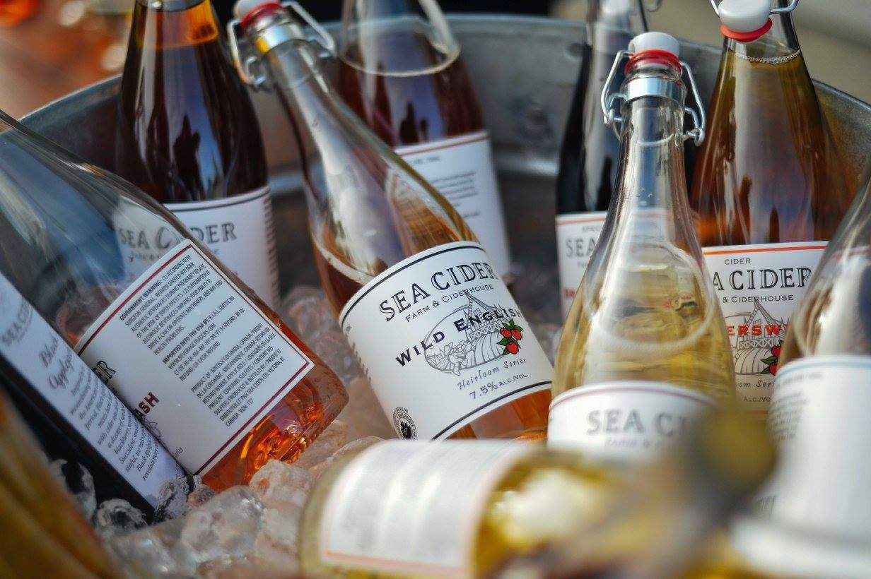 Vancouver Island Cider: Sea Cider Farm is located in the Saanich Peninsula.