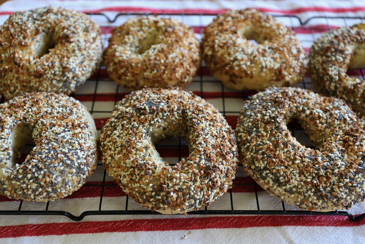 "Sourdough Discard Recipes: ""These are the best bagels I've ever tasted,"" my mom."