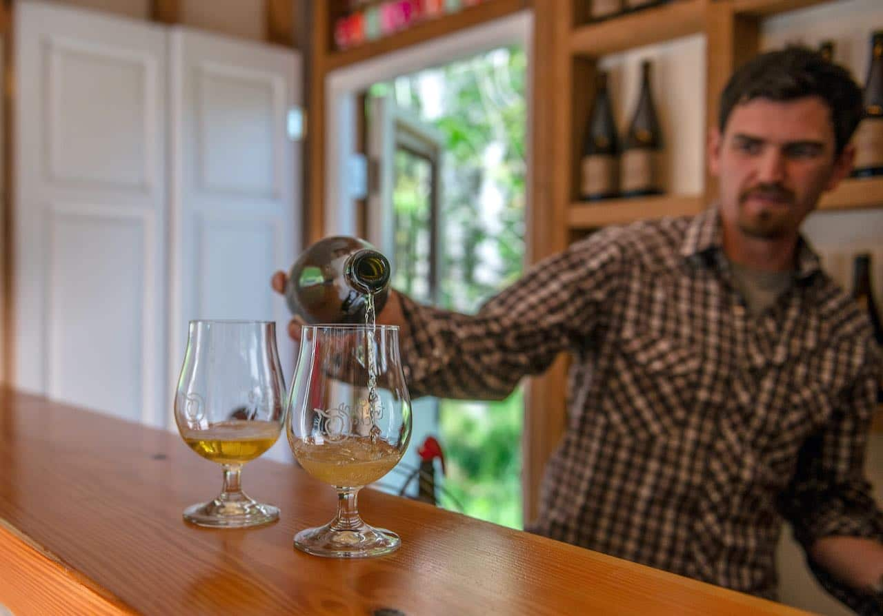 Enjoy a craft cider tasting on Pender Island at Twin Island.