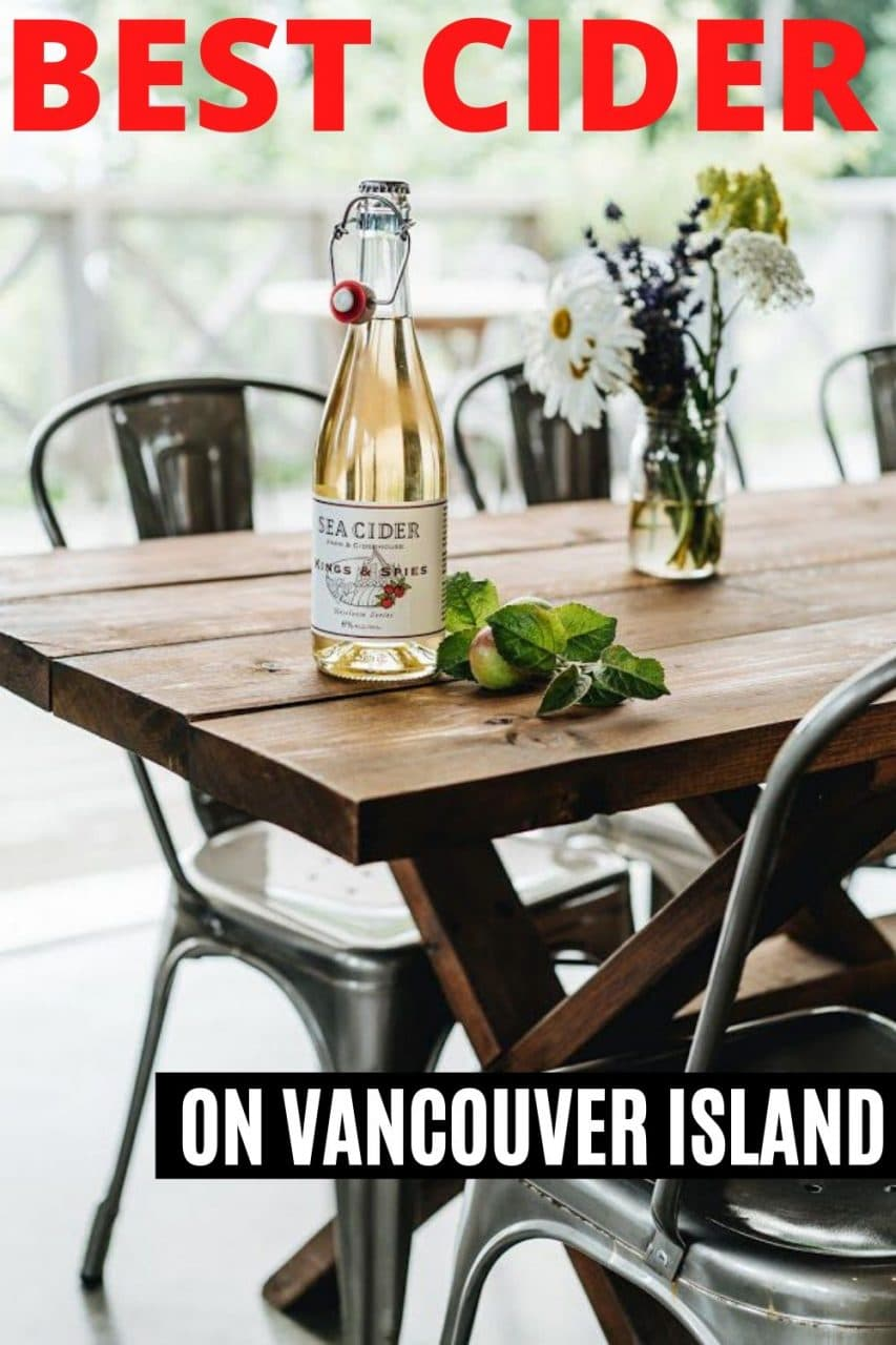 Save our Vancouver Island Cider Guide to Pinterest!