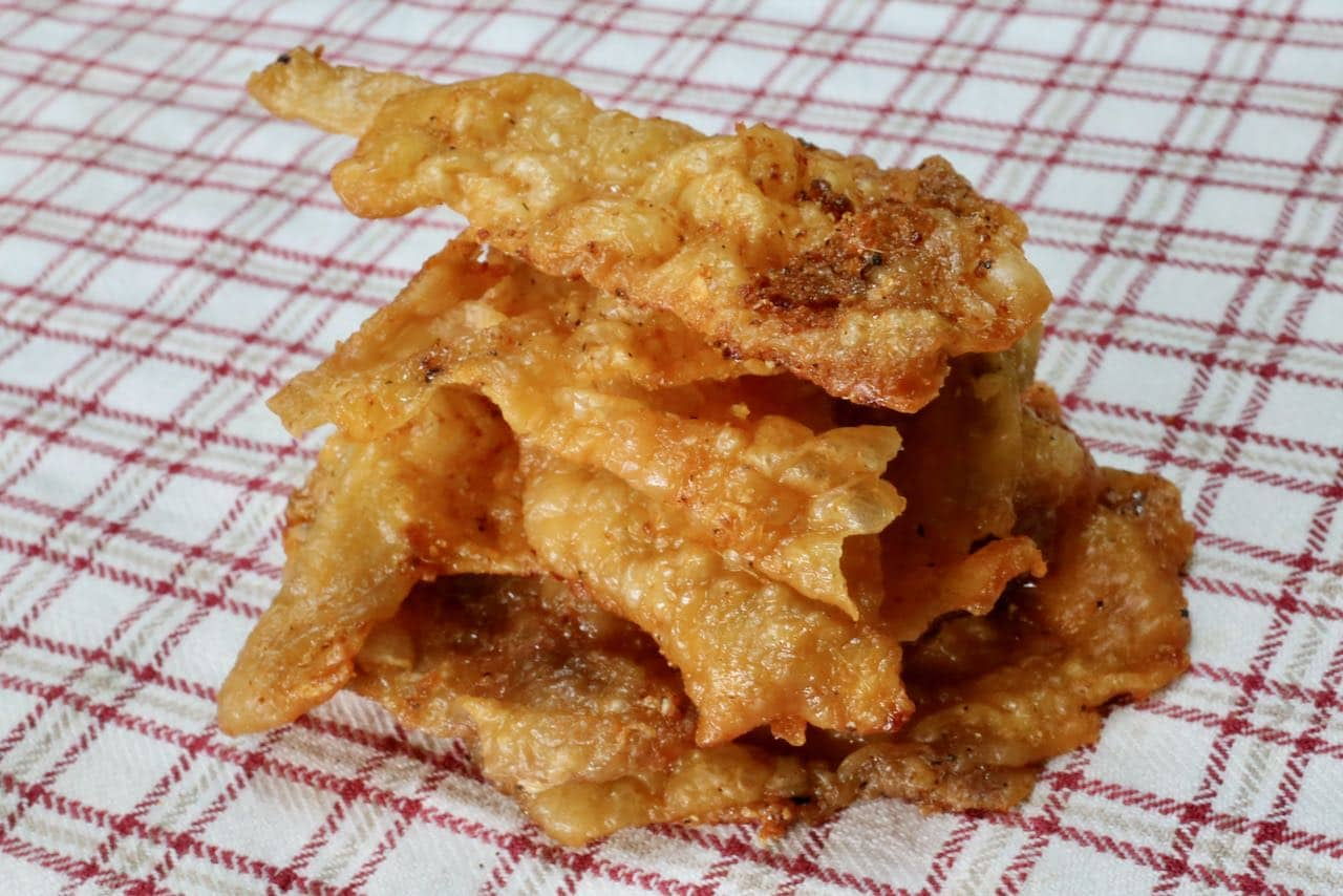 Store Cracklings in an airtight container and quickly reheat in the toaster before your next snack attack.