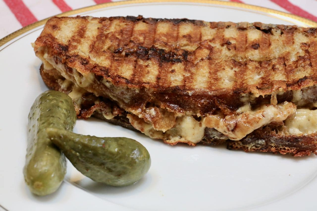 Our homemade gourmet grilled cheese is a quick and easy lunch or dinner idea.