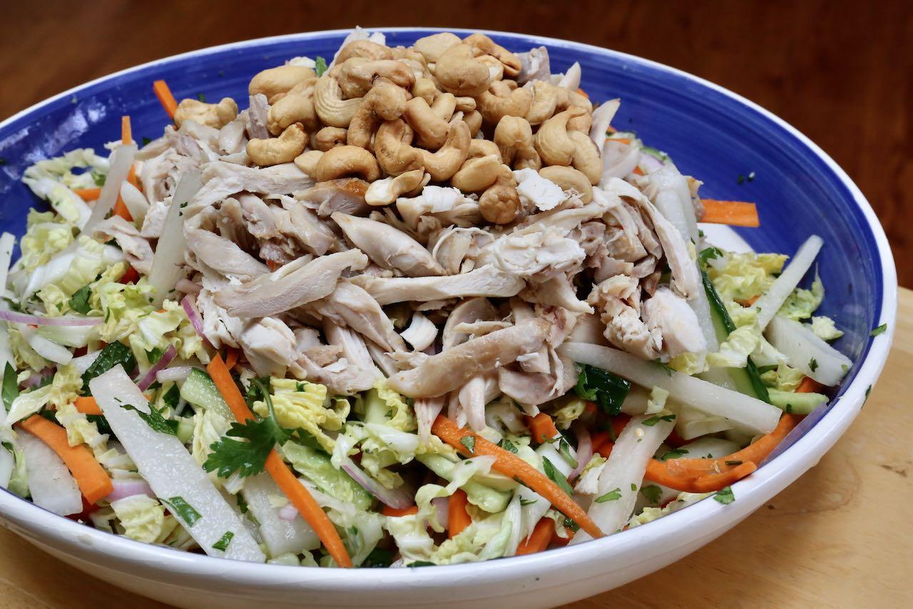 Easy Healthy Homemade Goi Ga Vietnamese Salad