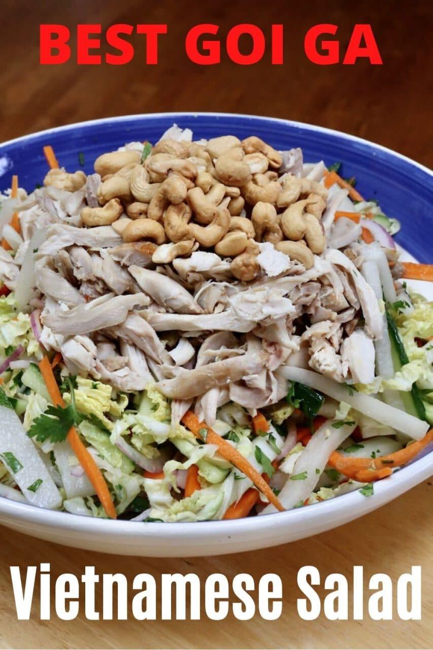 Goi Ga Vietnamese Salad.