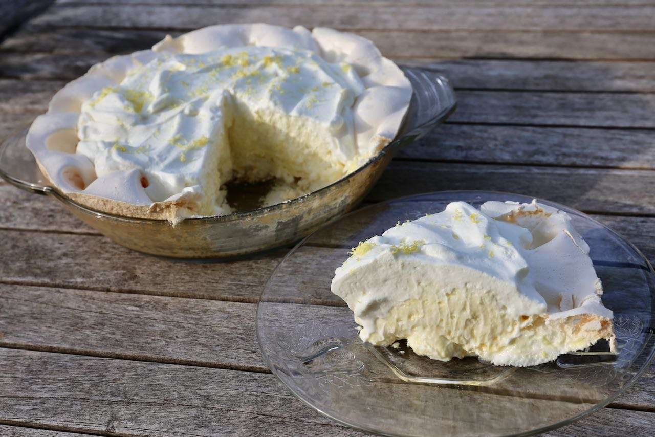 Best Gluten Free Pie: Creamy Lemon Angel Pie Recipe