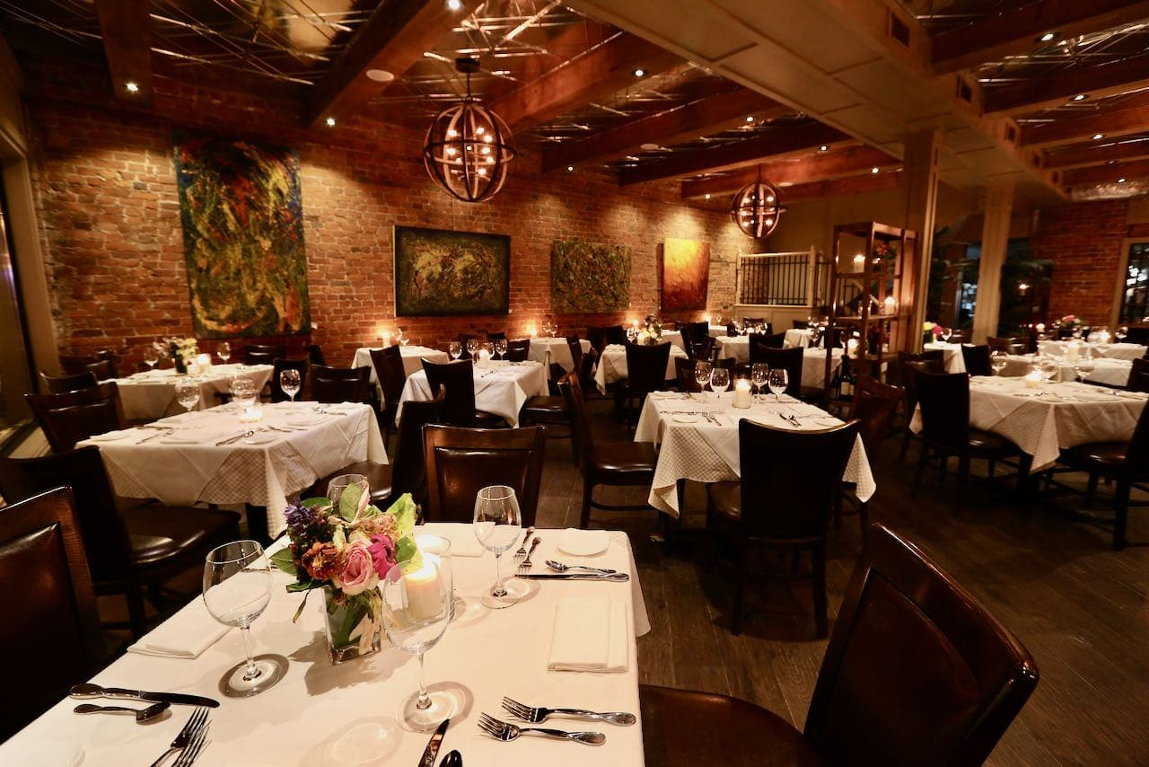 Seasons in downtown Oakville has been serving fine dining fare for over 20 years.
