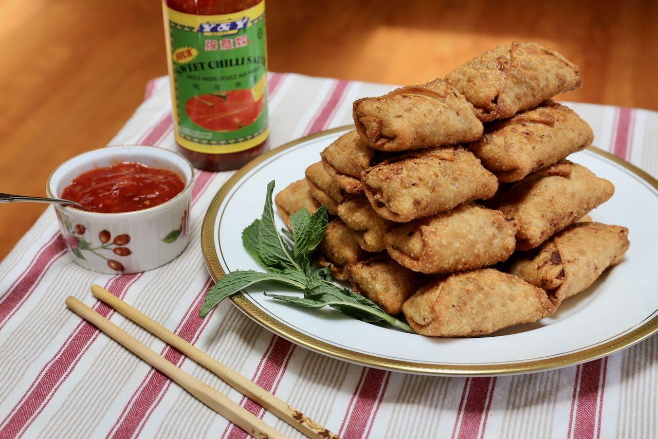 Homemade Shrimp & Pork Vietnamese Egg Rolls