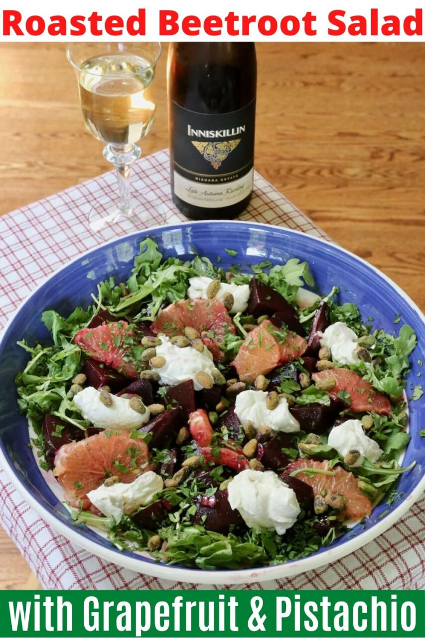 Save the best Beetroot Salad recipe on Pinterest!