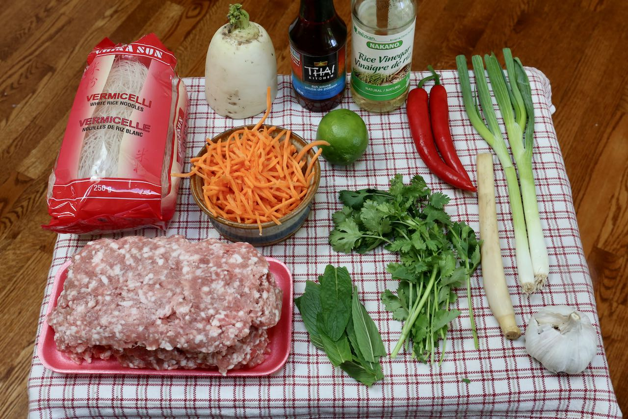 Ingredient you'll need to make our Bun Cha Recipe.