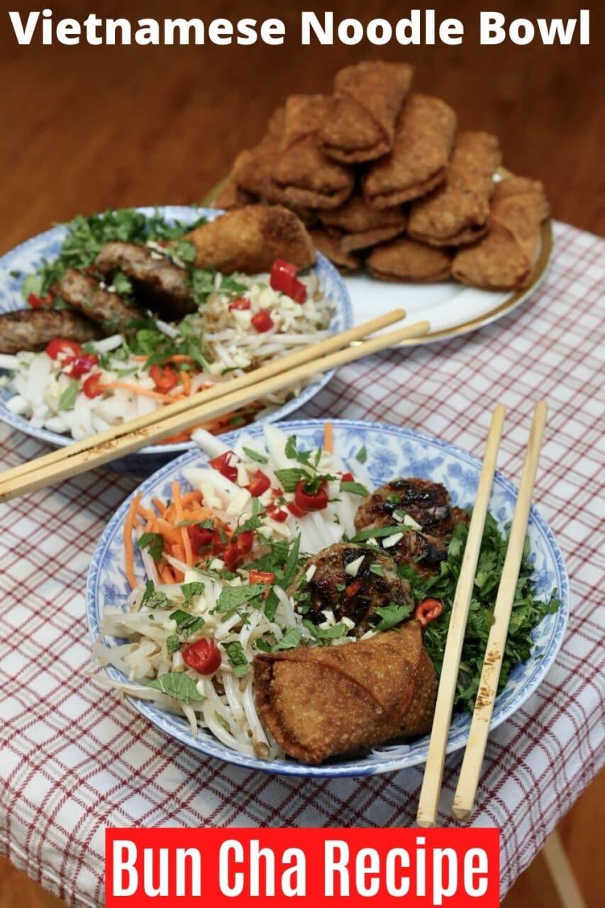 Pin our yummy Bun Cha Recipe!