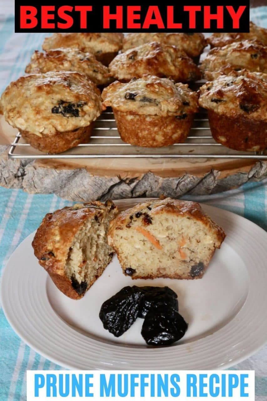 Save our Prune Muffins recipe to Pinterest!