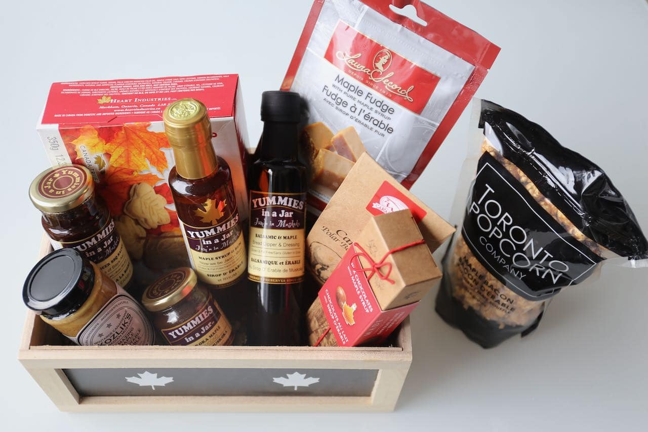 Toronto Gift Baskets: Caribou Gifts offers a perfect present for maple syrup lovers.