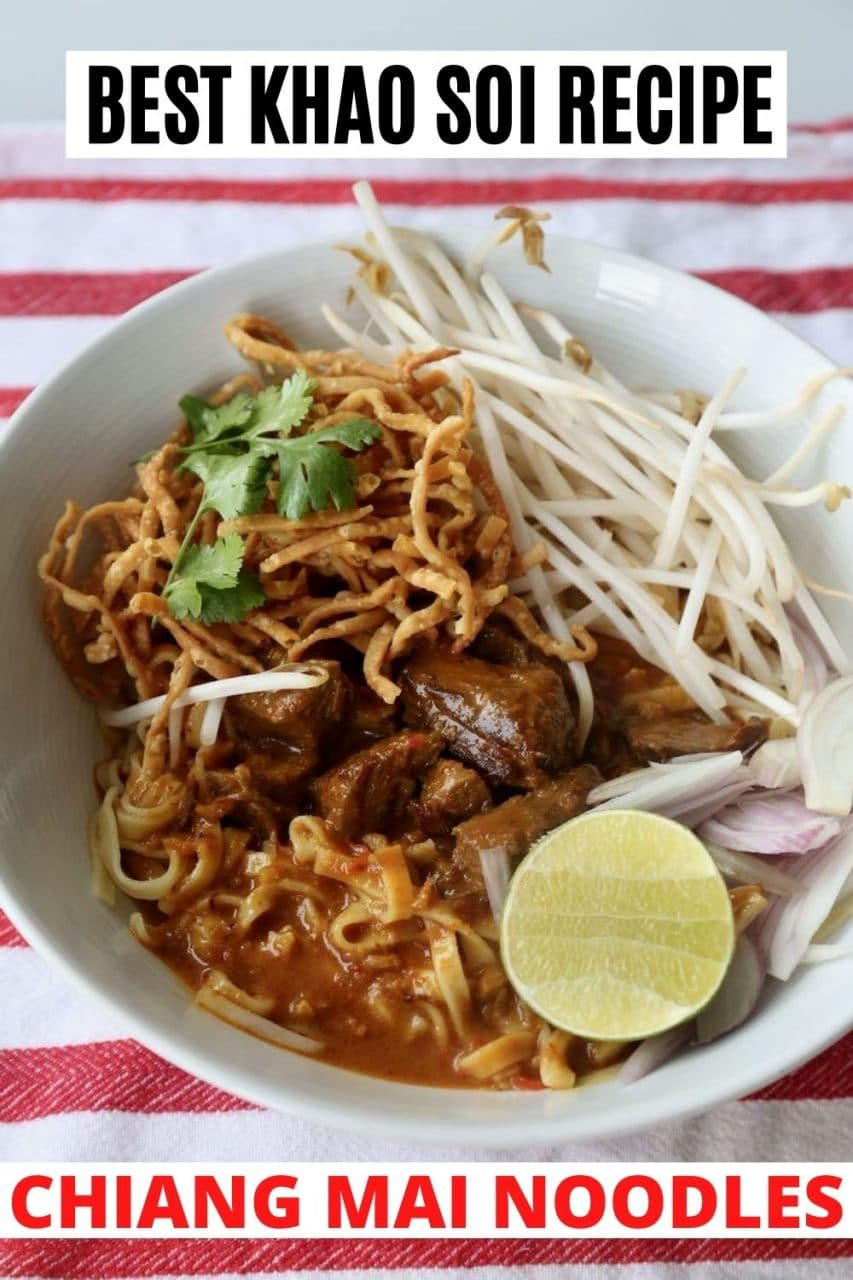 Save our Chiang Mai Noodles recipe to Pinterest!