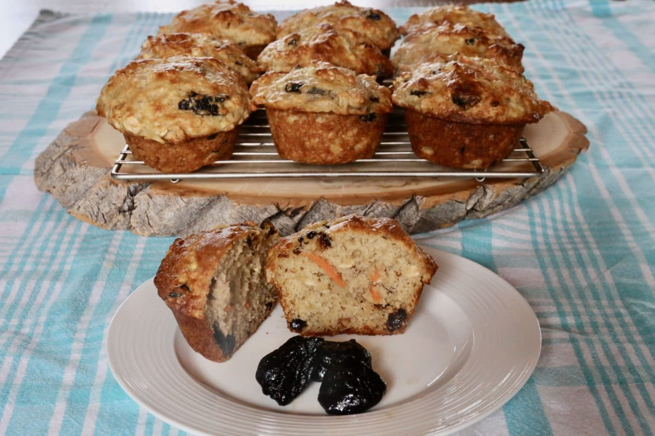 Serve Prune Muffins at breakfast or during tea time.