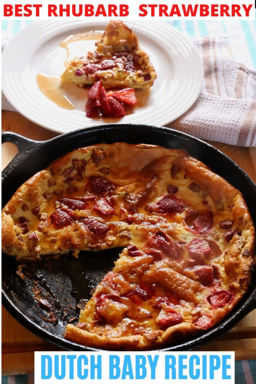 Save our Strawberry Dutch Baby Recipe to Pinterest!
