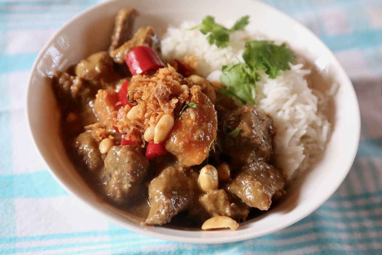 Serve our Authentic Massaman Curry recipe as a hearty lunch or at a Thai dinner party.