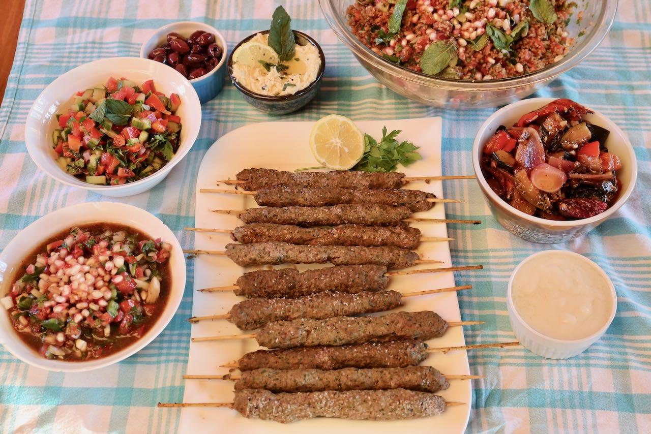 Beef Kafta Afghan Kebab Recipe
