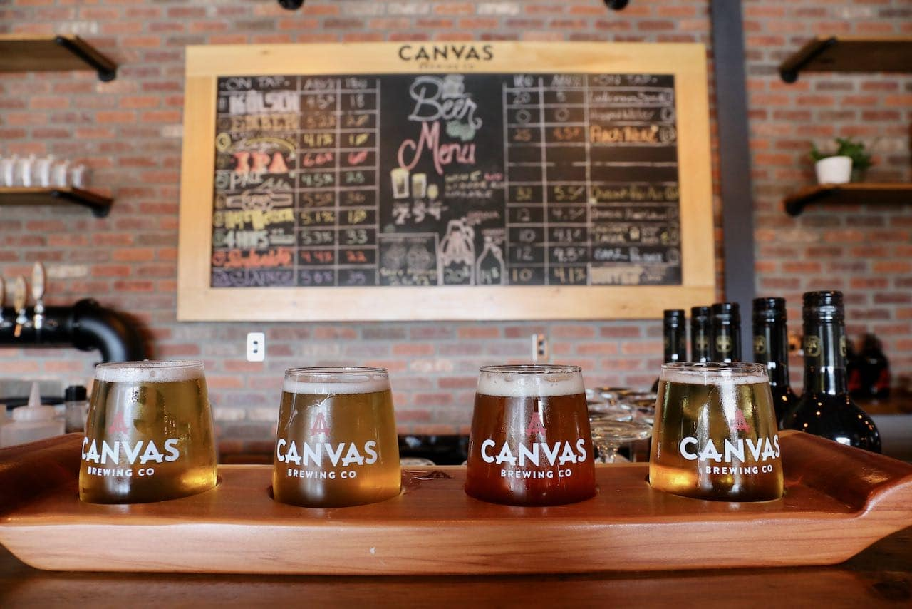 Canvas Brewing is the latest craft brewery to launch in Muskoka.
