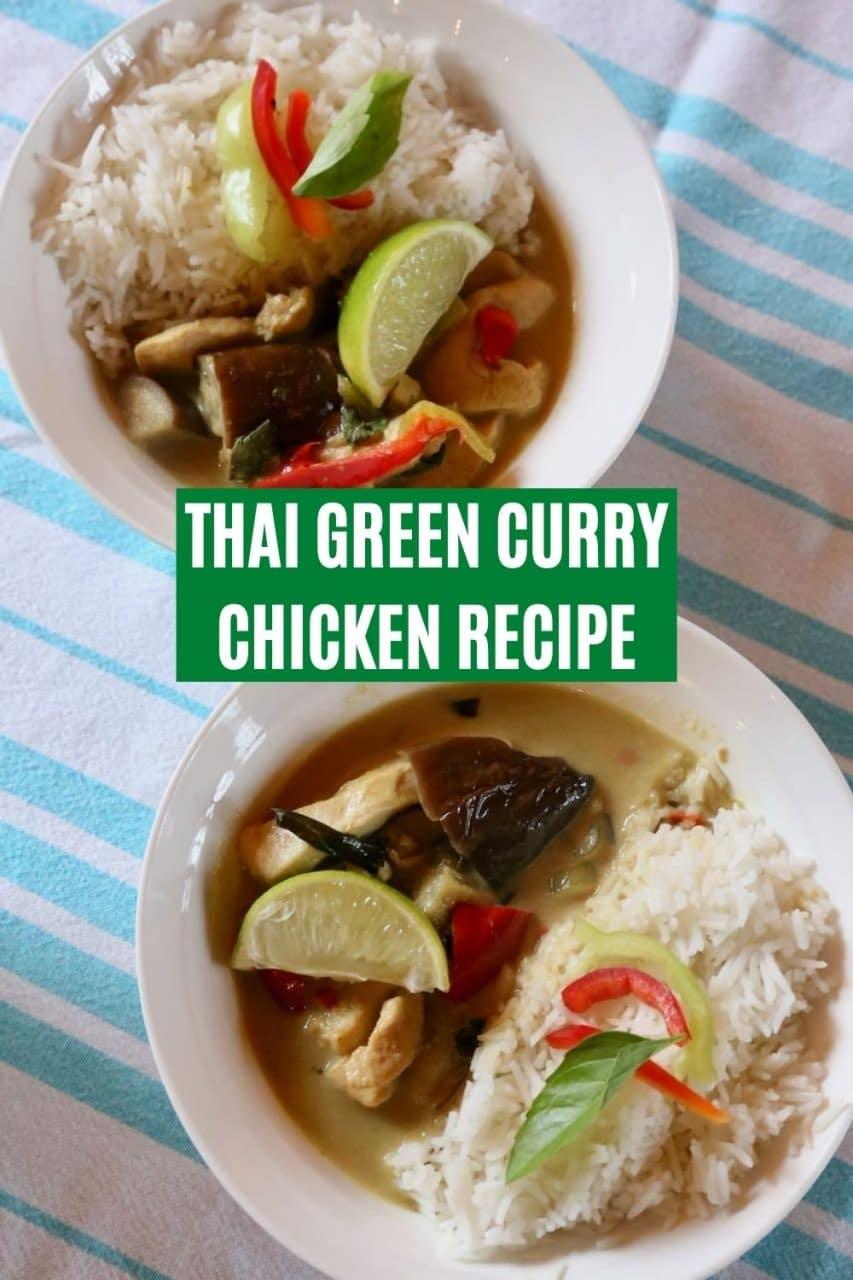 Save our Gaeng Keow Wan recipe to Pinterest!