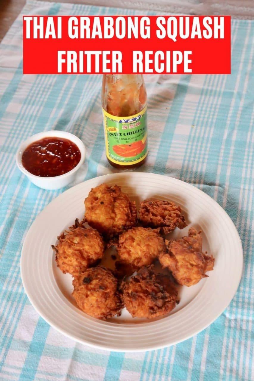 Save our Grabong Thai Pumpkin Fritter Recipe to Pinterest!