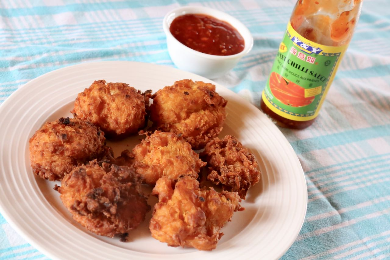 Grabong are our favourite Thai deep fried appetizer.
