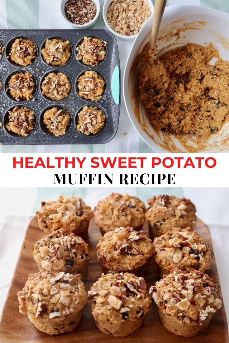Save our Sweet Potato Muffin Recipe to Pinterest!