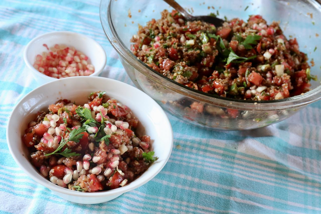 Serve our Kisir recipe as a light lunch Turkish salad or side dish at dinner.