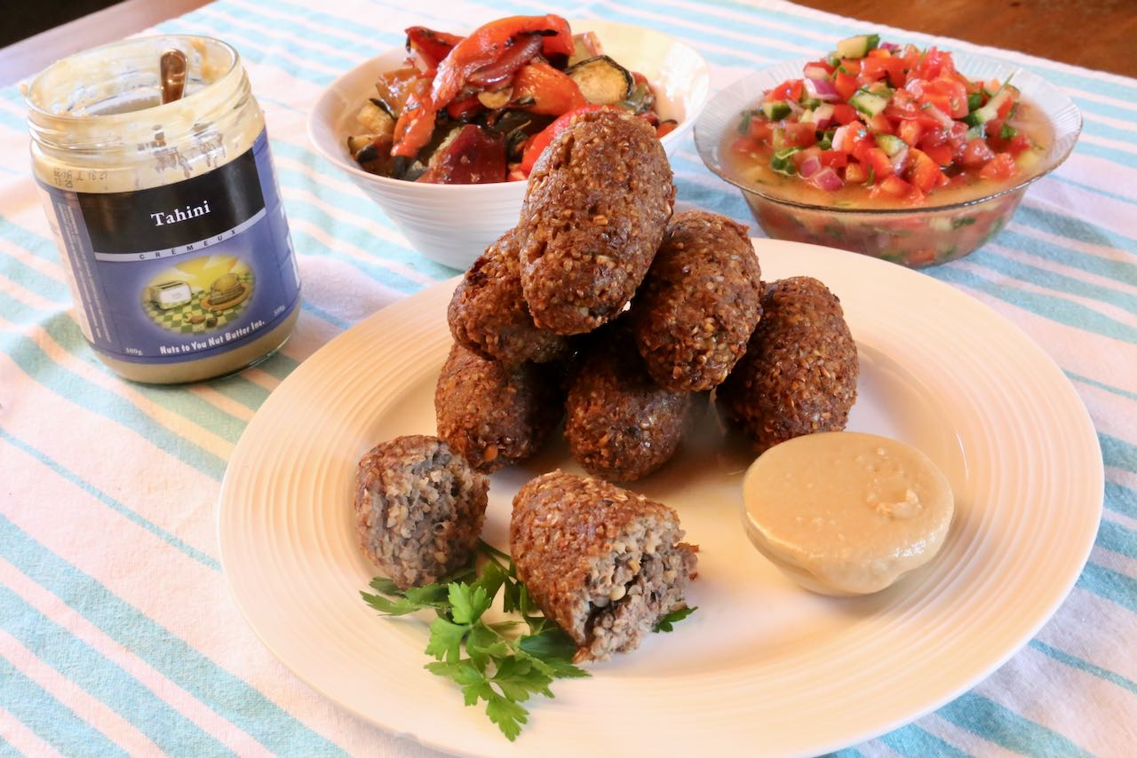 Homemade Lebanese Kibbeh Fried Beef Croquette Recipe