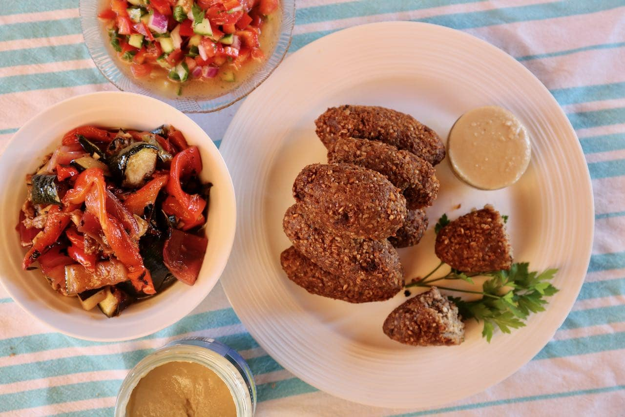 Lebanese Kibbeh is the perfect appetizer to serve at a Middle Eastern themed dinner party.