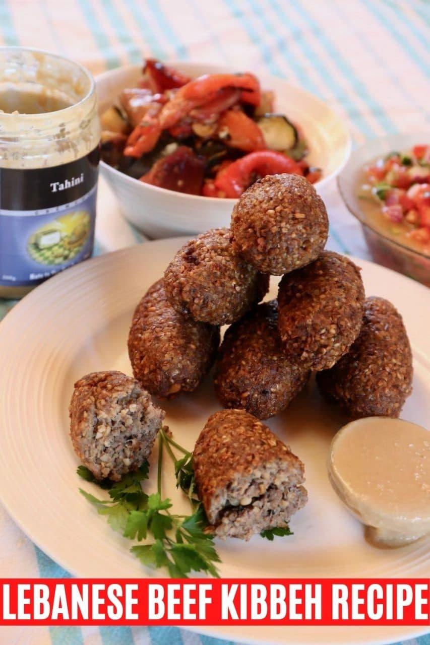 Save our Authentic Lebanese Kibbeh recipe to Pinterest!