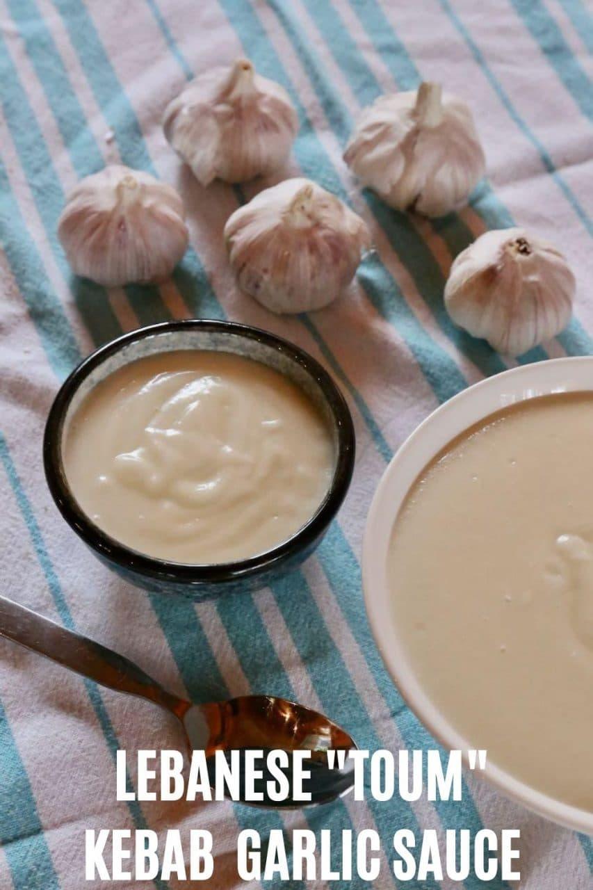 Save our Kebab Shop Garlic Sauce recipe to Pinterest!