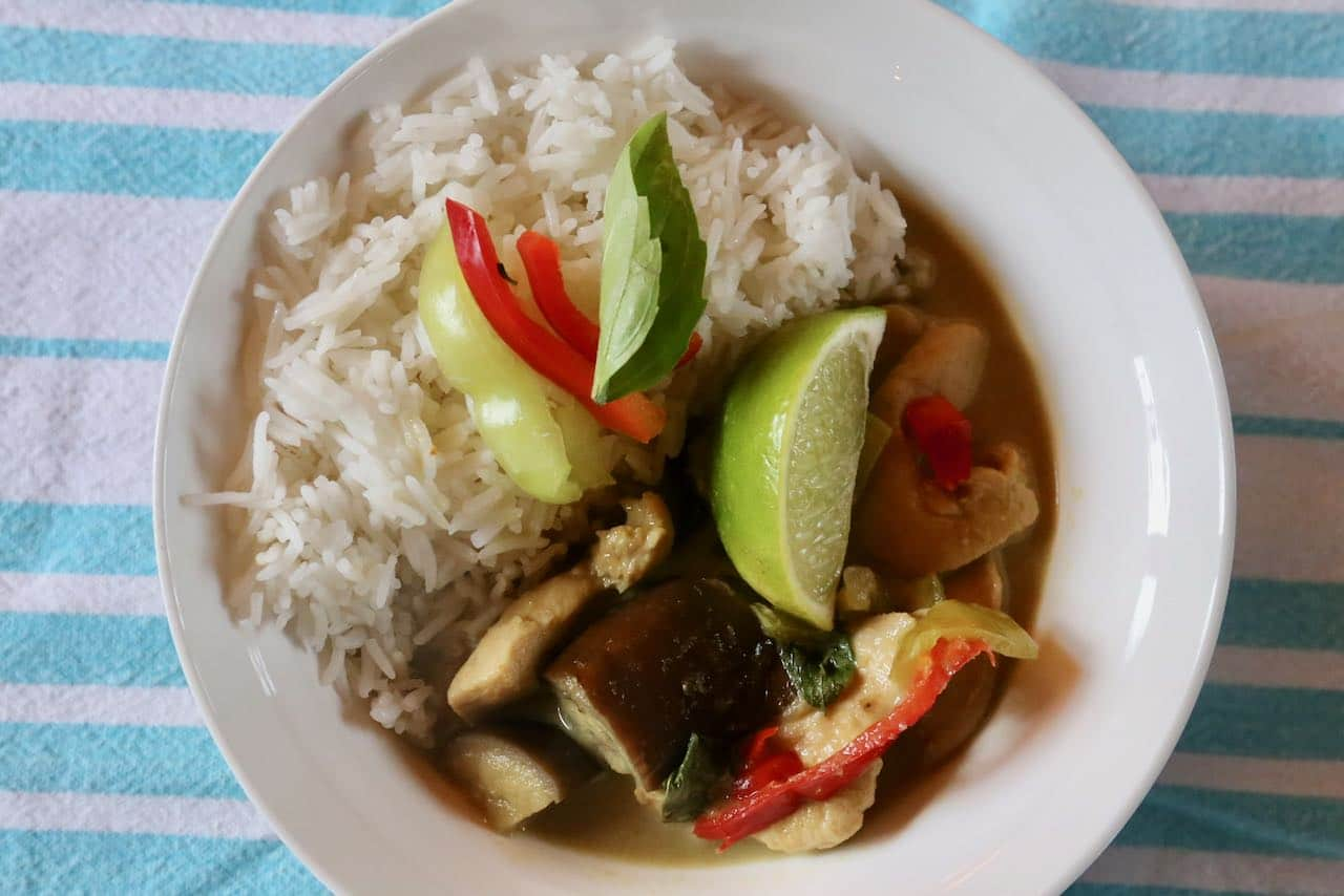 Gaeng Keow Wan leftovers can be enjoyed for up to 3 days.