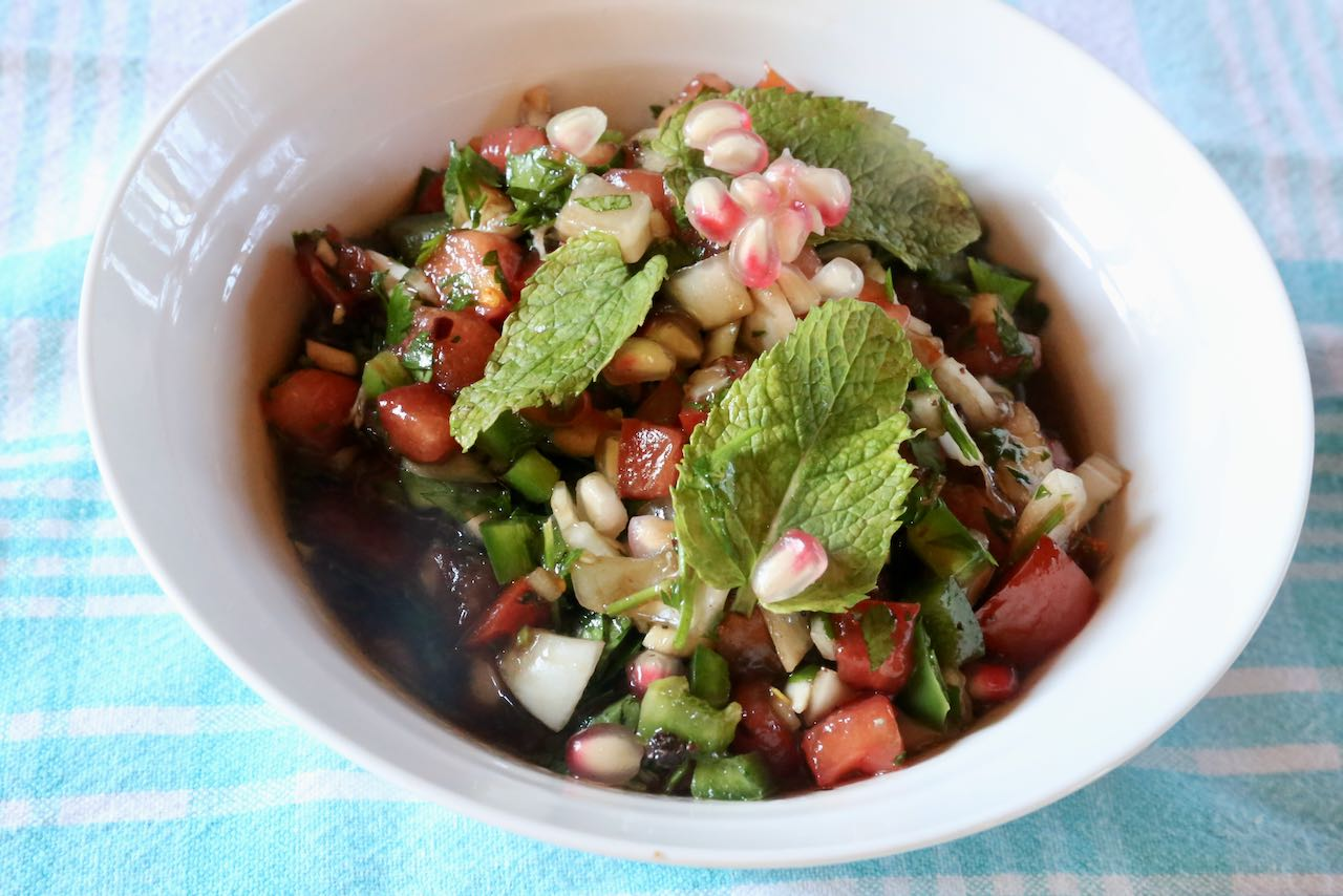 """""""Ezme Salata"""" Turkish Salad can be stored in the fridge for 3-4 days."""