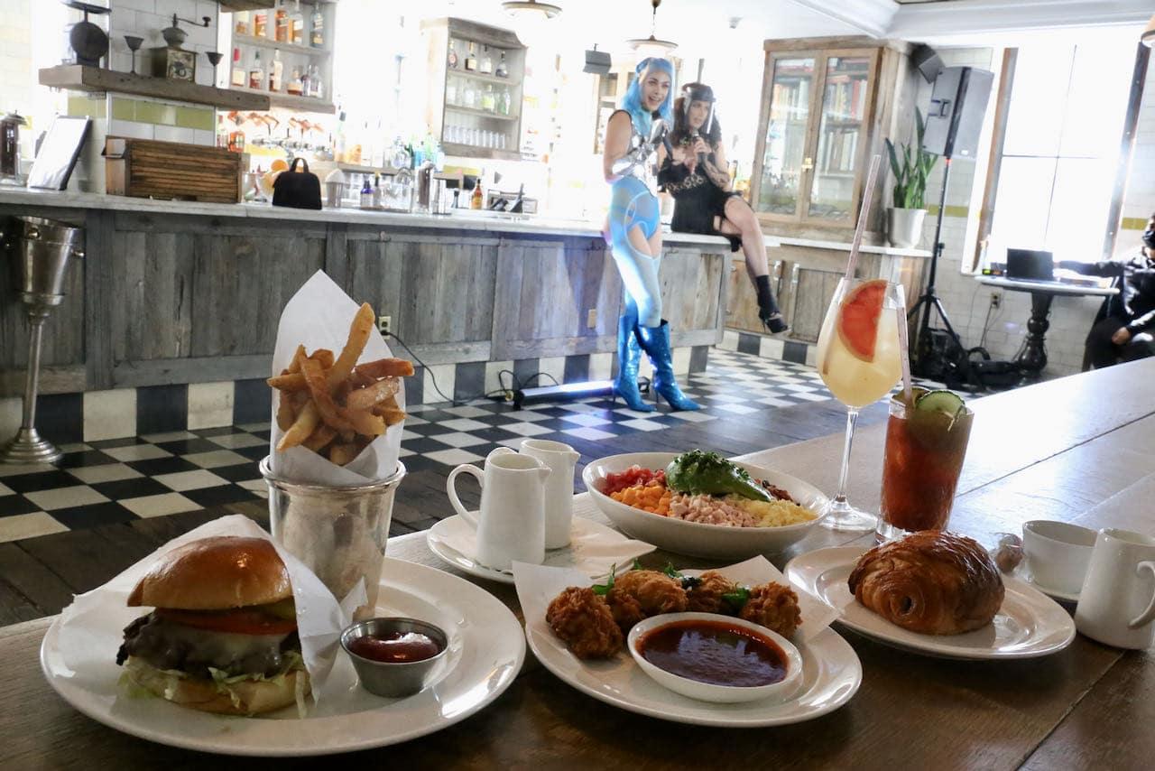 Best drag brunch in Toronto features hilarious queens, craft cocktails and gourmet breakfast menu.