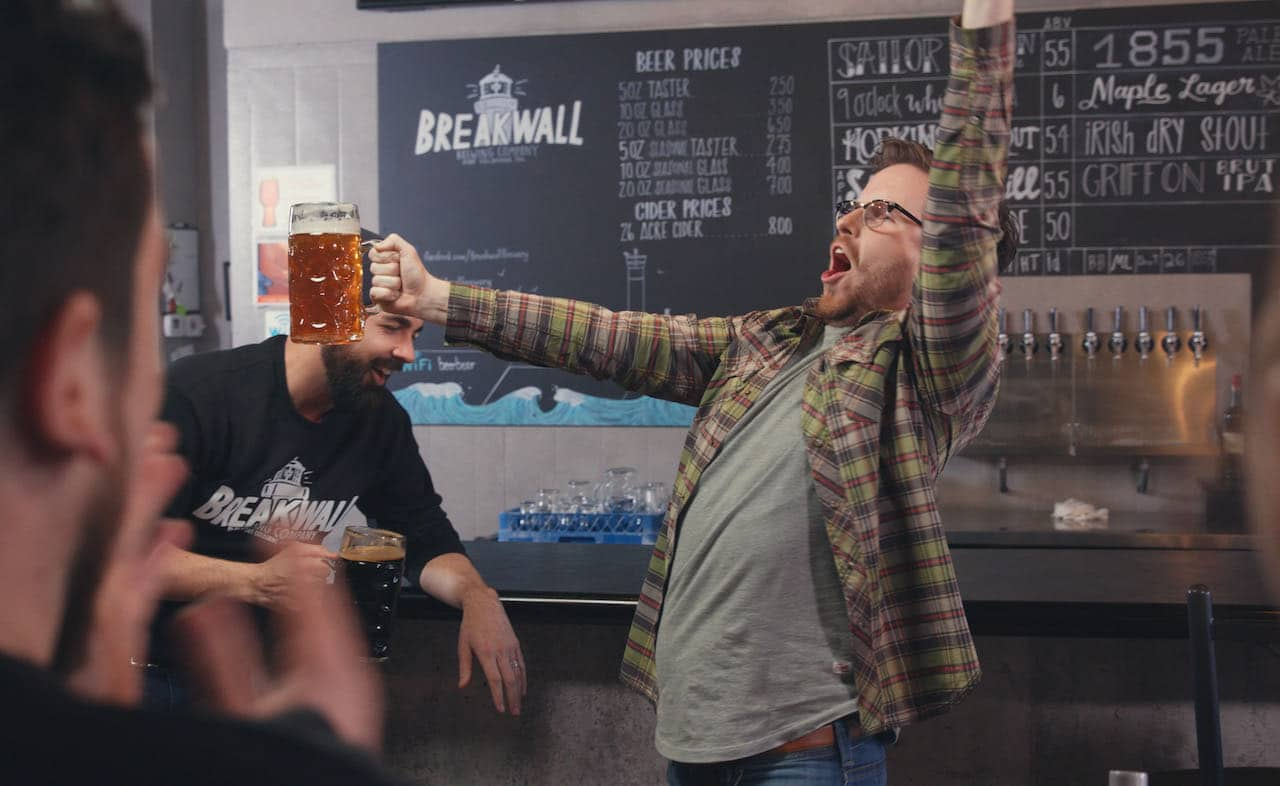 Niagara Breweries: Breakwall Brewing serves craft beer and bites in Port Colborne.