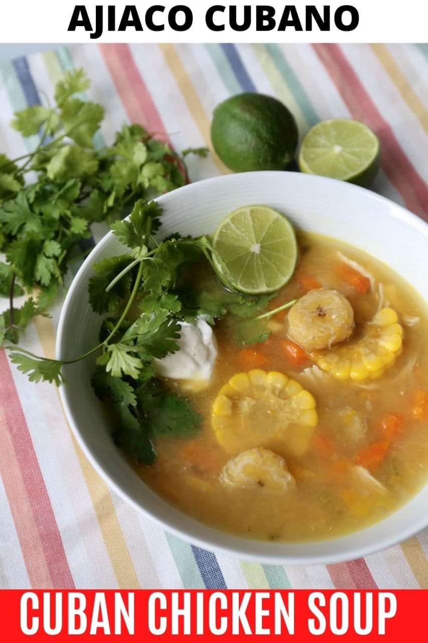 Save our Ajiaco Cubano recipe to Pinterest!