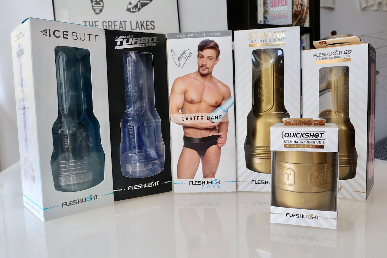 Fleshjack by Fleshlight are the best selling gay sex toys on the market today.