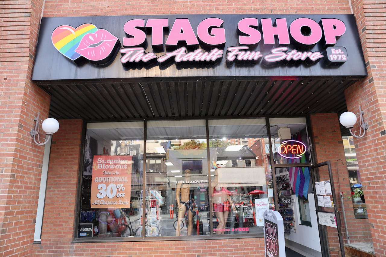 Stag Shop is one of Canada's top sellers of gay sex toys.