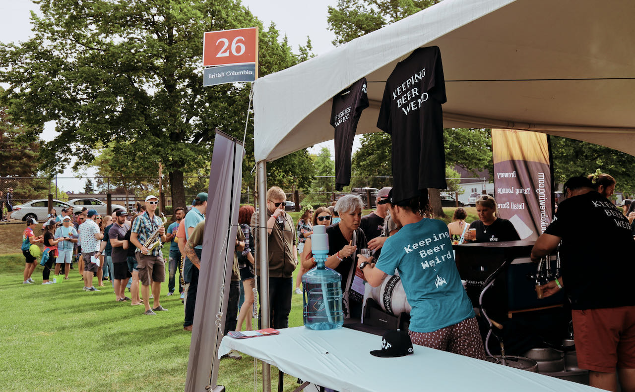 Great Canadian Beer Festival takes place each year in Victoria, British Columbia.