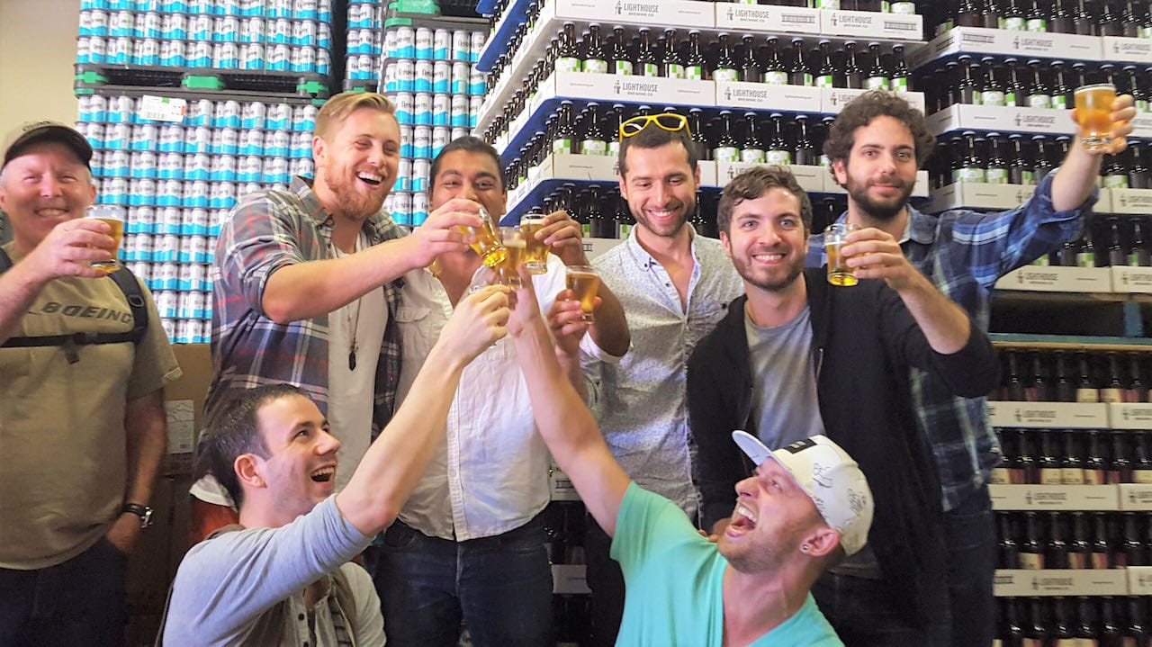 Book a fun craft brewery tour of Victoria, British Columbia.