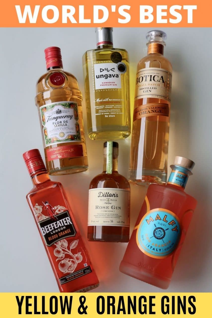 Save our Orange & Yellow Gin Guide to Pinterest!