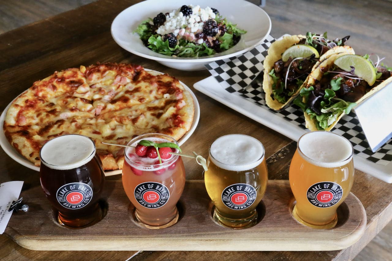Bracebridge Barrelhouse offers pizza, tacos and fresh beer from Lake of Bays Brewing.