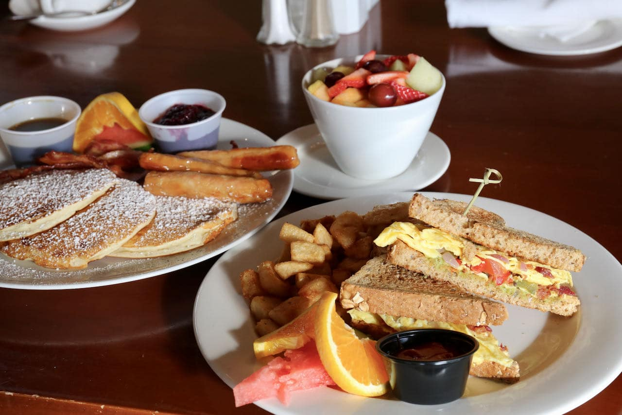 Eclipse Restaurant at Deerhurst Resort serves Huntsville's best brunch buffet.